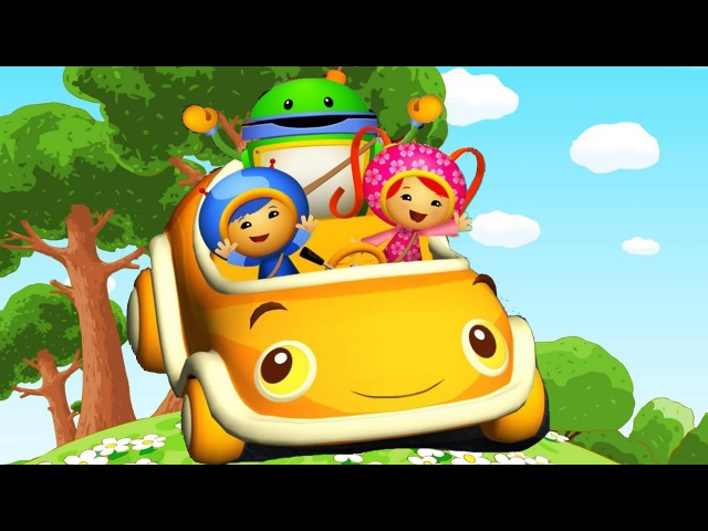 Team Umizoomi: UmiCar's Shape Mountain Race Game For Kids