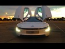 VW XL1 Turbo Diesel Hybrid -- The Most Efficient Car In The World
