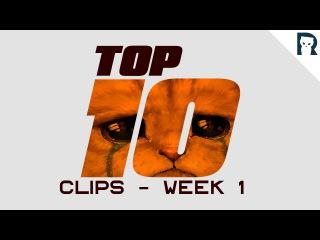 Top 10 Lirik clips - Week 1