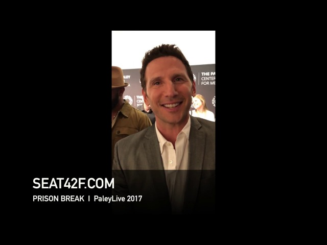 Mark Feuerstein PRISON BREAK PaleyLive 2017 Interview