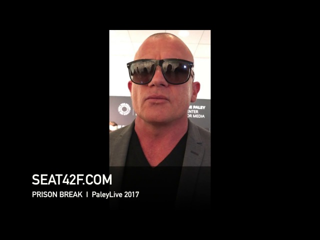 Dominic Purcell PRISON BREAK PaleyLive 2017 Interview