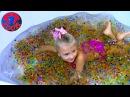 ОРБИЗ ЧЕЛЛЕНДЖ Выращиваем 10000 Шариков ОРБИЗ Видео для детей ORBEEZ Challenge