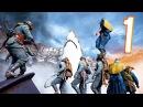 Battlefield 1 - Random Funny Moments 22 Megalodon, Under The Map!
