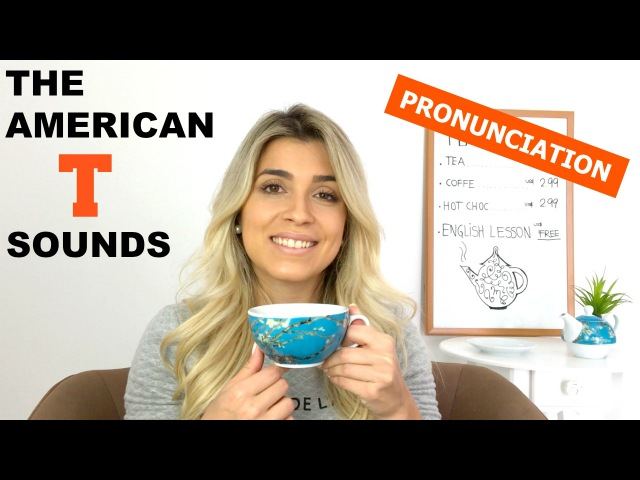 The American T Sounds | Pronunciation | Eng