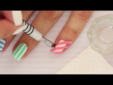 4 Ways To Easily Get Perfect Striped Nails! Update PERFECT nail polish 2018