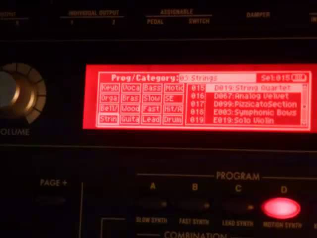 Korg microX Patches 3 of 6: Strings, Vocals, Airy