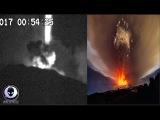 STRANGE UFO Activity Over Mt. Etna Volcano 31917