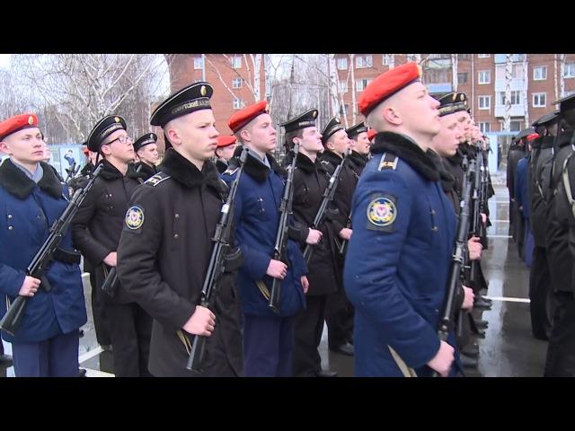 Воткинские кадеты готовятся к 9 Мая