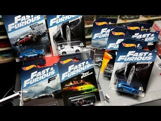 Lamley Preview: 2017 Hot Wheels Fast & Furious 8-Car Assortment