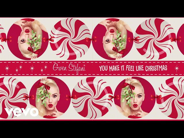 Gwen Stefani - You Make It Feel Like Christmas (Lyric Video) ft. Blake Shelton