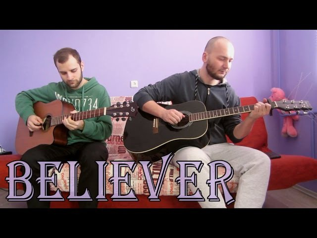 Imagine Dragons - Believer (acoustic guitar cover, tabs)