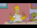 The Simpsons Homer kills fly at Dinner