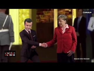 Nouvelle proposition de slogan pour Emmanuel Macron :