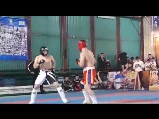 Имамбеков Ерназар 1-бой по очкам!