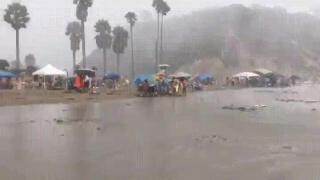 Небольшой ветерок в городе Санта-Барбара на этих выходных