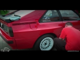 Audi Sport Quattro  Outside and Inside