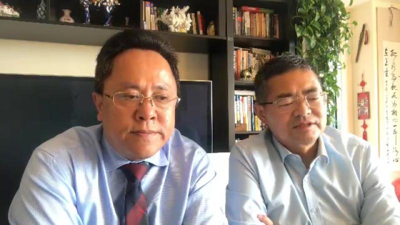 赵岩:绝密文件证实郭文贵爆料的精准,与宝胜一起解析今天新闻发布会内容。北京时间6日1时38分