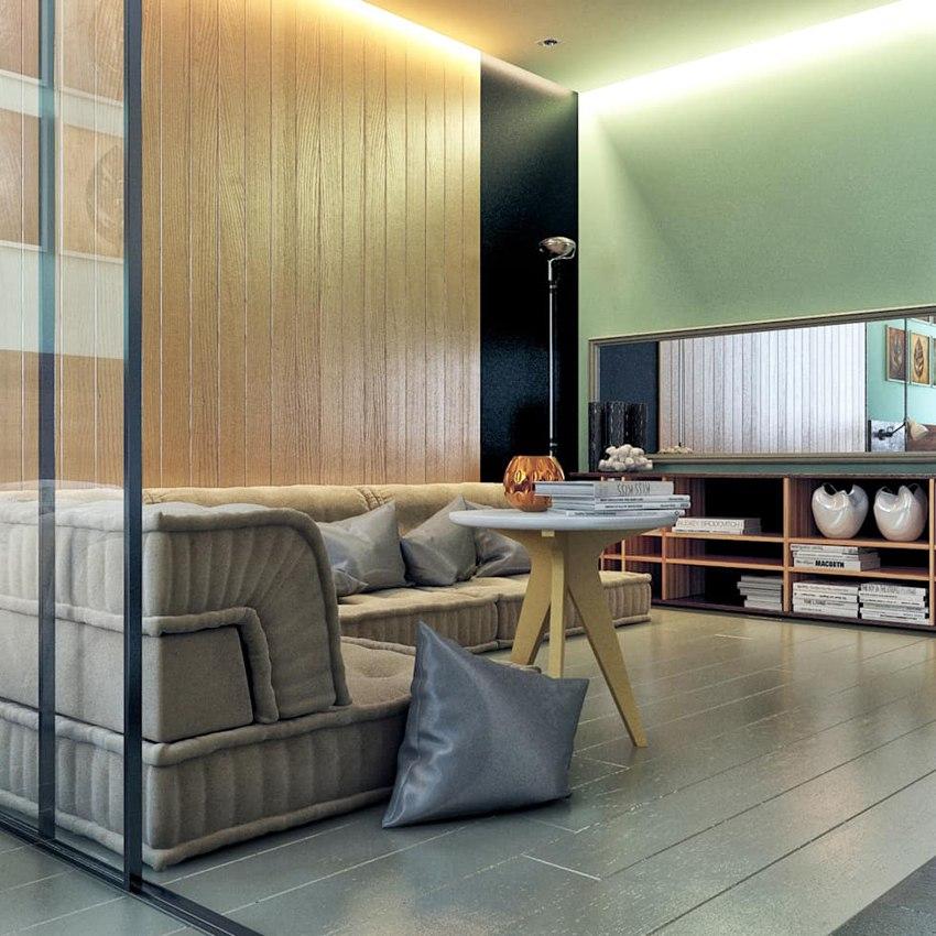 Вариант 2 проекта квартиры 40 м.