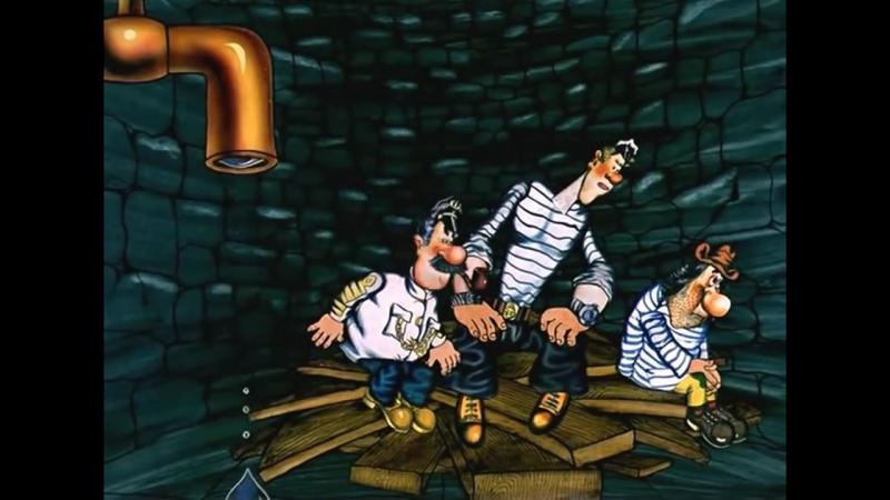 Приключения капитана Врунгеля - Все серии подряд. Часть 2 (7 - 13 серии) советские мультфильмы