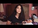 """Alexia Bosch очень красиво исполнила песню Martin Garrix ft. Bebe Rexha """"In The Name Of Love""""."""