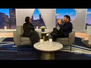 Kelly was on the harry show to promote her upcoming movie.
