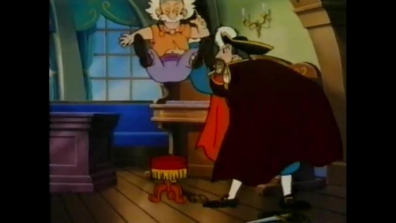 Приключения Питера Пэна Peter Pan no Bouken - 1 сезон 17 серия У Джона бессонница
