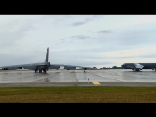 B-52 Bomber Readiness Exercise • Conventional or Nuclear