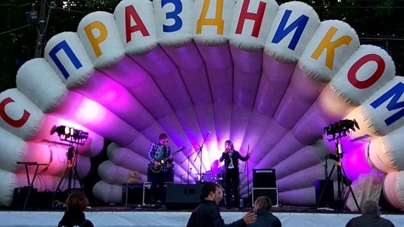 GA-GA-RA - Никогда live БЕЗ БАСА (R-Oka 09.09.17)