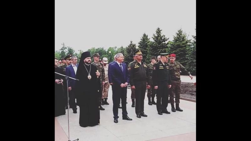 Торжественная Церемонию вступления новобранцев в ряды Всероссийского военно-патриотического движения