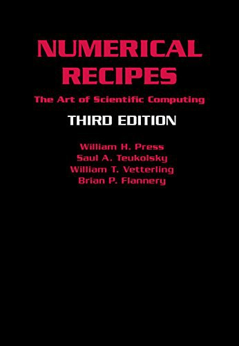Numerical Recipes: Scientific Computing, Third