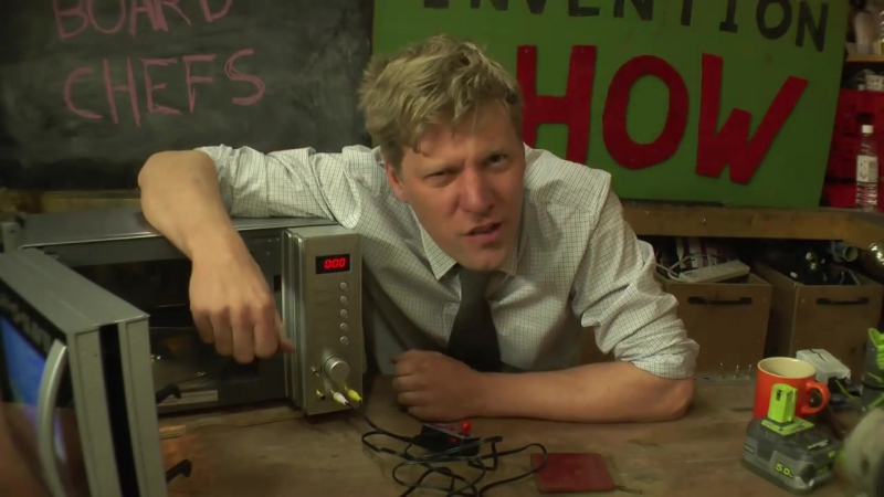 Games Console Microwave - FURZES INVENTION SHOW