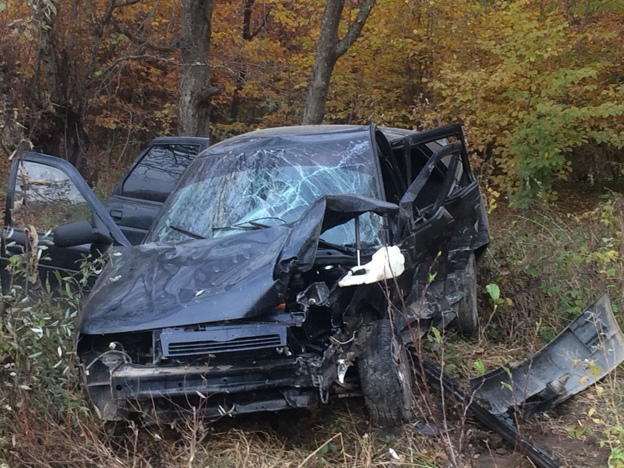 Два автомобиля разбились в Урупском районе