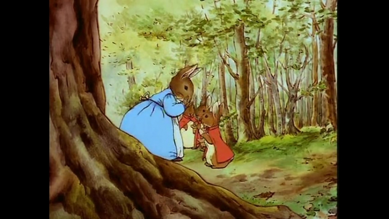 Мир кролика Питера - 1 - Кролик Питер и Бенджамин Банни (1992)