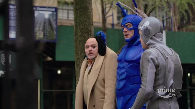 Тик-герой / The Tick (1 сезон) - трейлер в HD