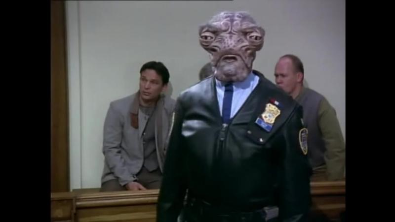Космическая полиция (1 сезон 1 серия) / Space Precinct (1994)