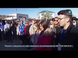 Участники Всемирного фестиваля молодежи оставили в Севастополе послание для будущих поколений