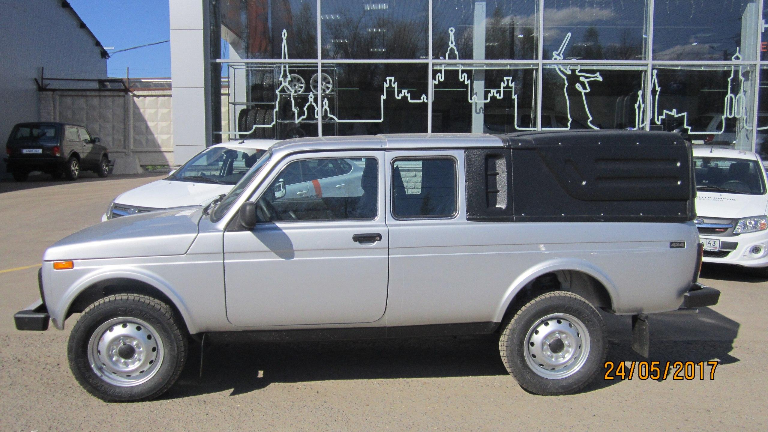 LADA Бортовой 4х4 ВИС Пикап | Специальный автомобиль на базе LADA с выгодой до 80000 рублей!