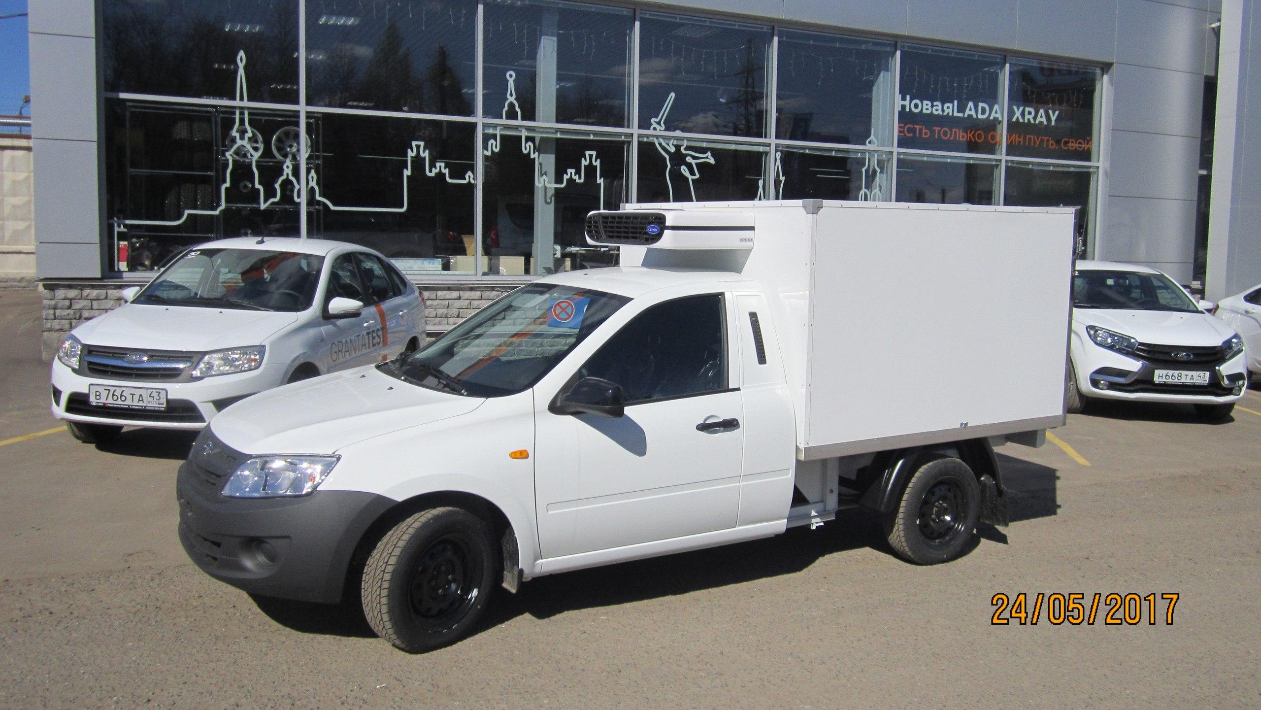 LADA Granta ВИС Фургон! Специальный автомобиль на базе LADA с выгодой до 60000 рублей!