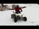 ATV Crash Suzuki LTR 450 into a tree picture video