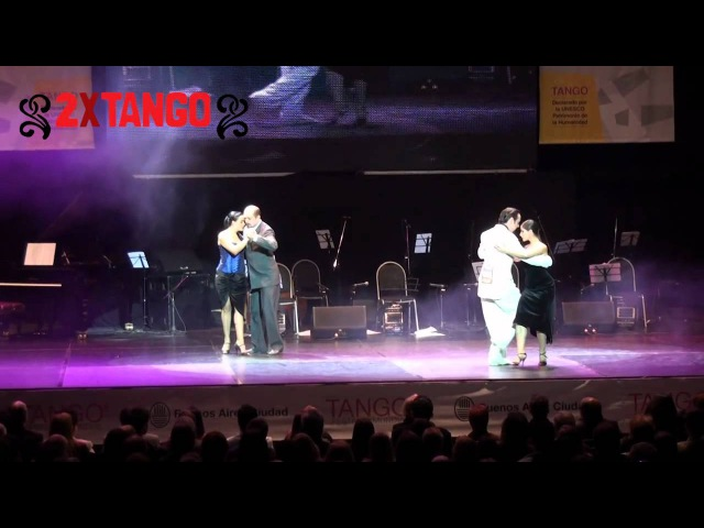 Campeones Mundial de Tango 2011. Categoria Salon. Ronda Desempate. Diego Benavidez Hernández and Natasha Agudelo Arboleda