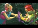 Injustice 2 - Harley Quinn Vs Poison Ivy - All Intro Dialogue/All Clash Quotes, Super Moves