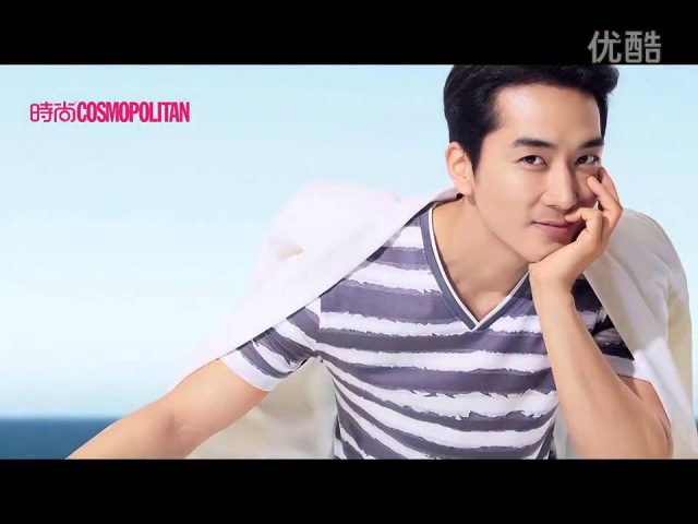 Song Seung Heon Cosmopolitan China Aug 2014 Making