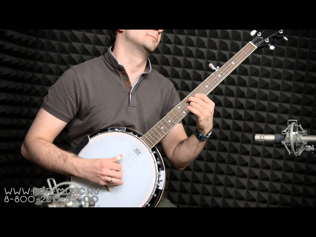 Банджо ARIA SB-10 (Cool banjo playing)