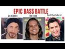 EPIC BASS BATTLE Tim Foust VS Avi Kaplan VS Geoff Castellucci