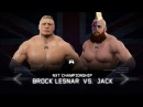 WFW NXT Takeover - Jack vs Brock Lesnar [NXT Championship]