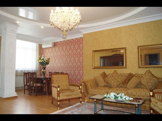 Элитная трёхкомнатная квартира в стиле Ампир. ЖК Миллениум-1