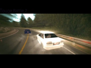 TeamRus|Qubick vs Looky. Touge Battle 2. | UNKNOWN DRIFT/TOUGE