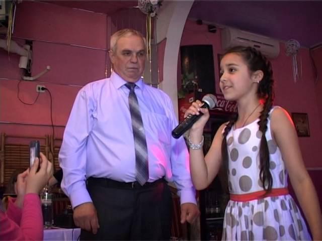 Выступление певицы ( песня дедушке ) Видеосъёмка в Харькове , Свадьба в Харькове