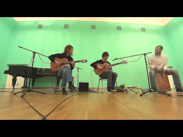 Michelle - The Beatles (guitar cover) - Mikhail Olenchenko, A.Uchevatkin, E. Ivannikov