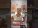 Марина Краснянская готовит в трусах часть 2.
